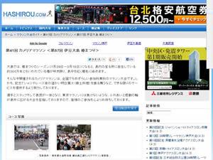 伊豆大島カメリアマラソン大会